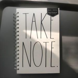 Rae Dunn notebook